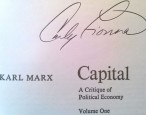 Carly Fiorina's name linked, indelibly, with classic Karl Marx book