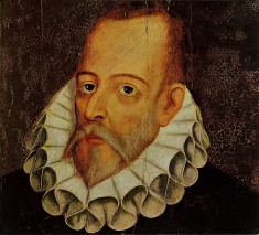 Portrait of Cervantes by Juan de Jauregui