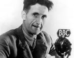 Smoking George Orwell statue will loom over smoking BBC employees