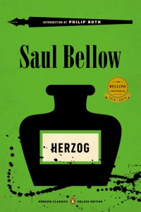 Riding high on his Herzog profits, Saul Bellow bought a desk. Now it can be yours! Image via Penguin Random House
