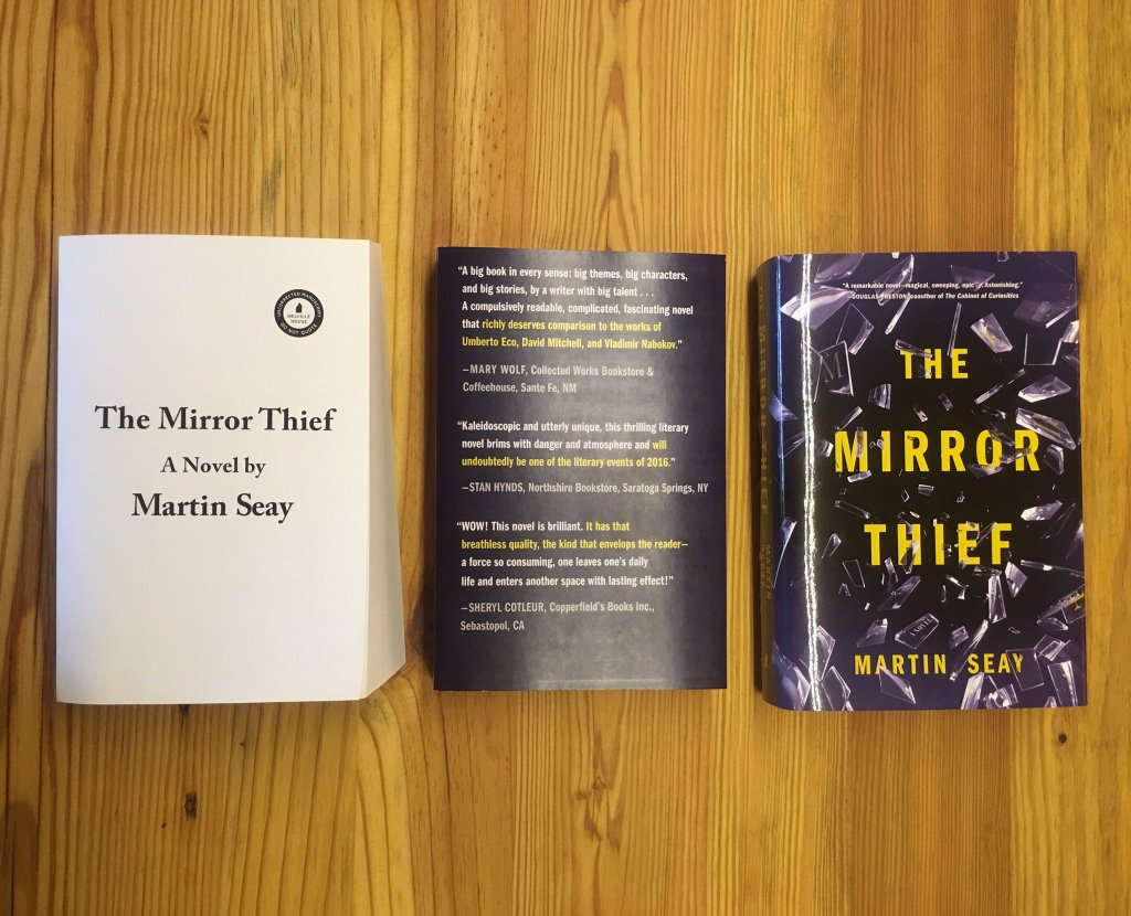 How indie booksellers literally put <i>The Mirror Thief </i> on the map