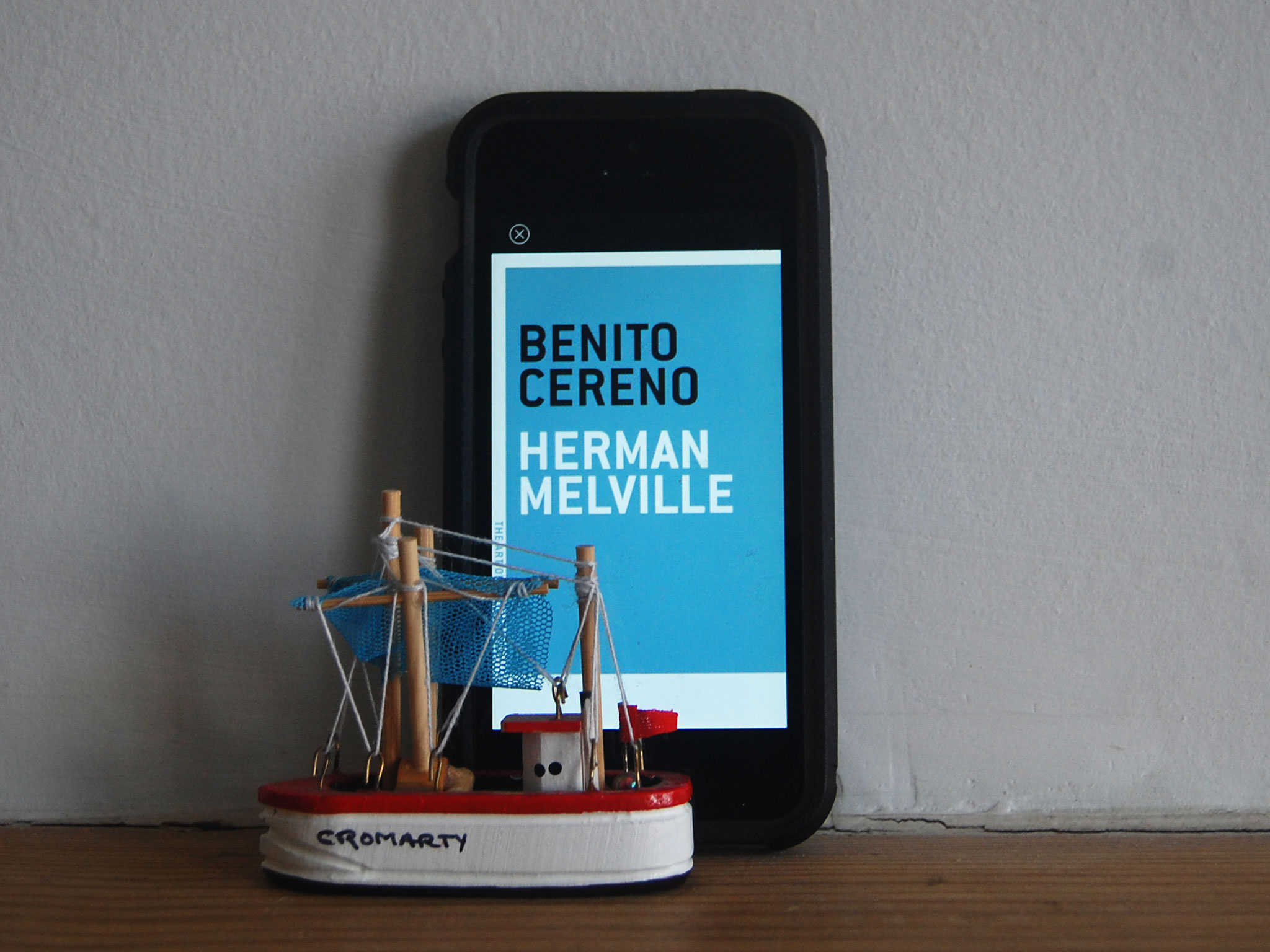 The Art Of The Novella Challenge  Benito Cereno  Mobylives Benitocereno