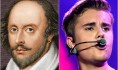 Shakespeare v. Bieber: Who has the best lines?