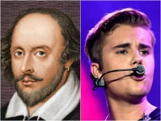 Shakespeare Vs Bieber