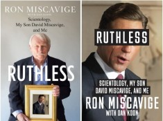 RUTHLESS's US (left) and UK (right) covers.