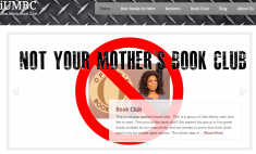 Don't even think about bringing an Oprah pick to these manly book clubs.
