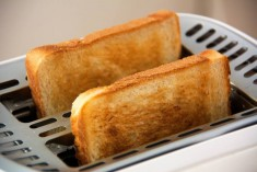 Unplug the toaster when you're done. Via The Toast.