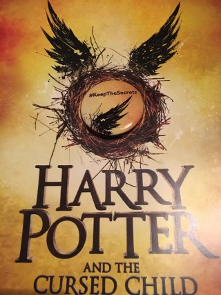Harry potter and the cursed child book release date