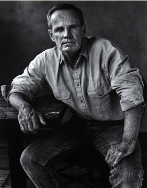 Cormac McCarthy looking rugged. Image via The Quarterly Conversation.