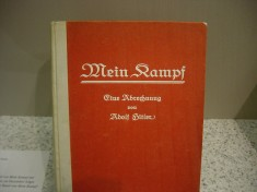 An original first edition of Mein Kampf. Image via Wikipedia.
