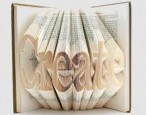 New exhibition displays art made by the book