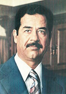Saddam Hussein, author