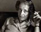 Hannah Arendt is afraid she has to protest