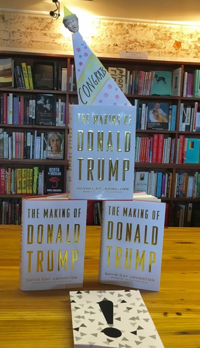 <i>The Making of Donald Trump</i> is on the <i>New York Times</i> Best Sellers List for the third week running