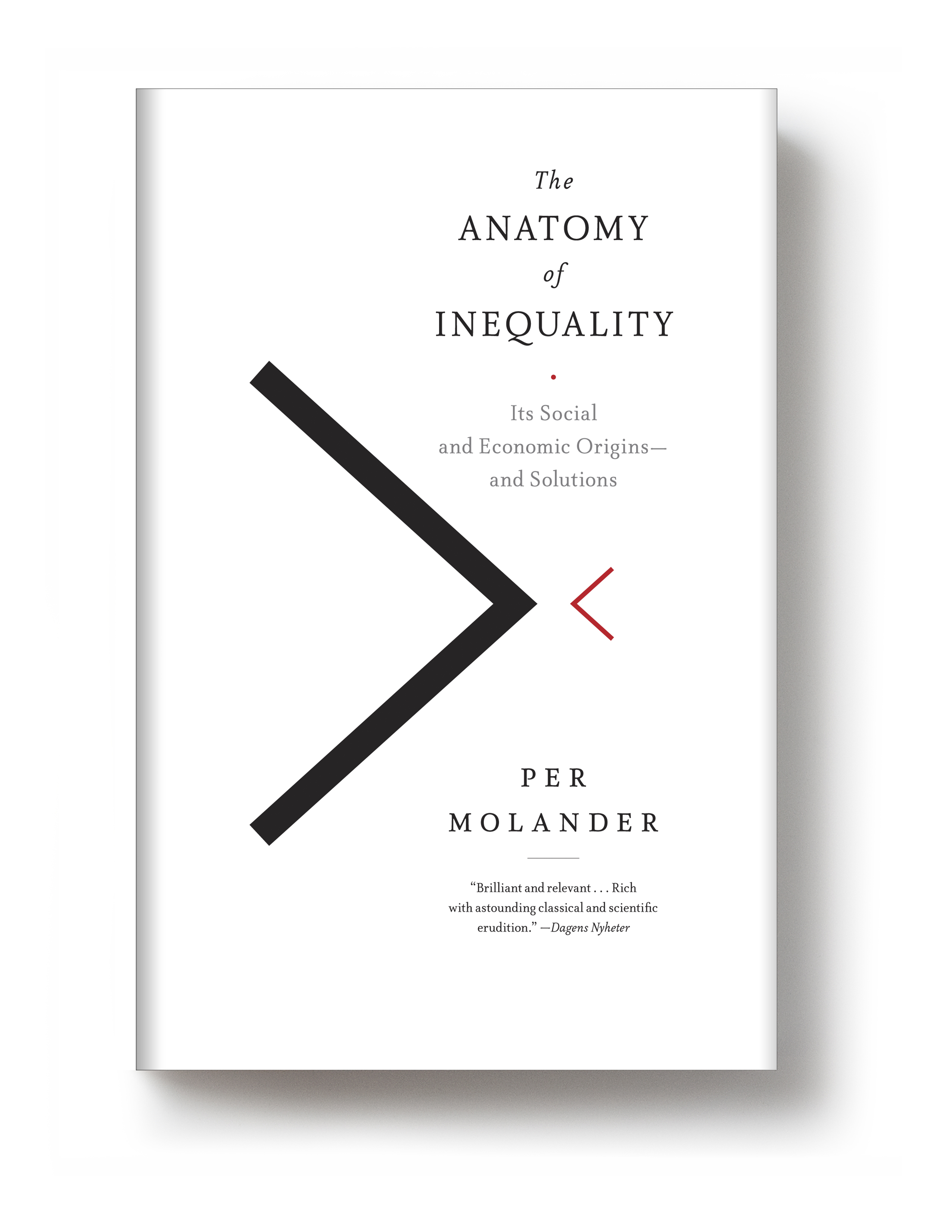 On sale today: <i>The Anatomy of Inequality</i> by Per Molander