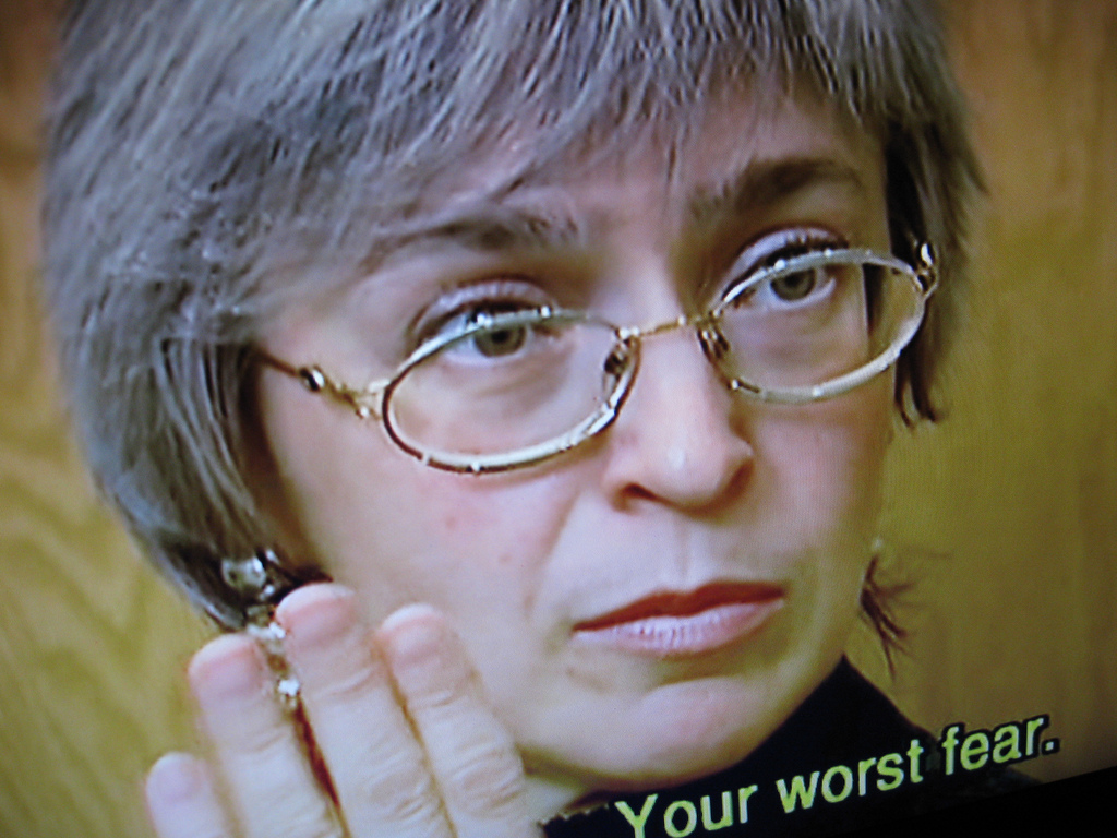 Anna Politkovskaya has a question for Pence and Trump; had she not been assassinated ten years ago today, she'd be the one to ask it