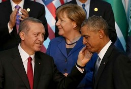 Obama and Erdoğan.