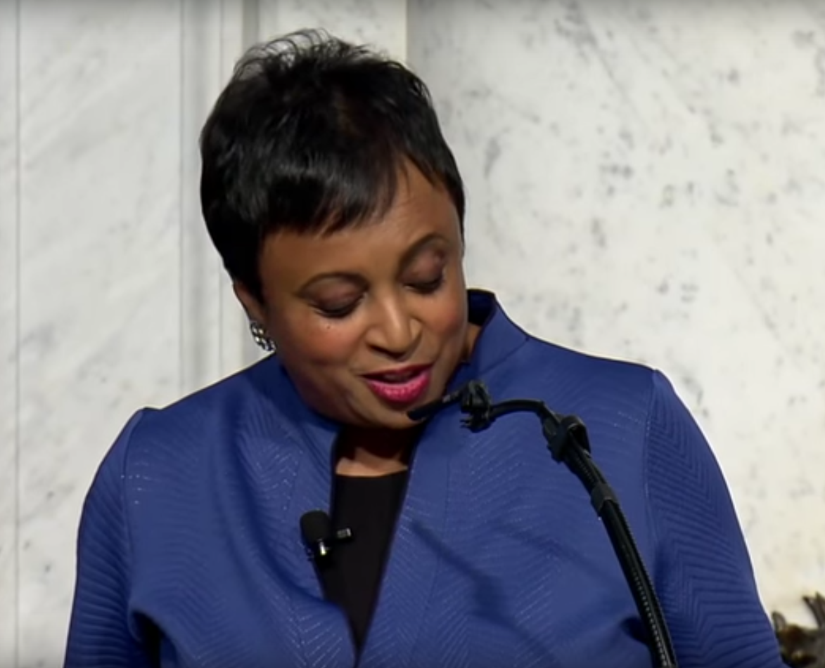 Carla Hayden sworn in as Librarian of Congress, America's Library sworn to awesomeness
