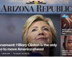 Conservative newspaper faces threats after endorsing Clinton; responds in the classiest way possible