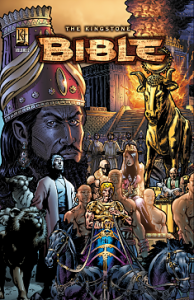 The cover of one of Kingstone's Bible comics. Via kingstone.co.