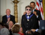 Bob Dylan is being a great sport about that Nobel Prize he won; everybody please lay off Bob Dylan