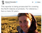 Another journalist faces charges for covering the Dakota Access Pipeline protest