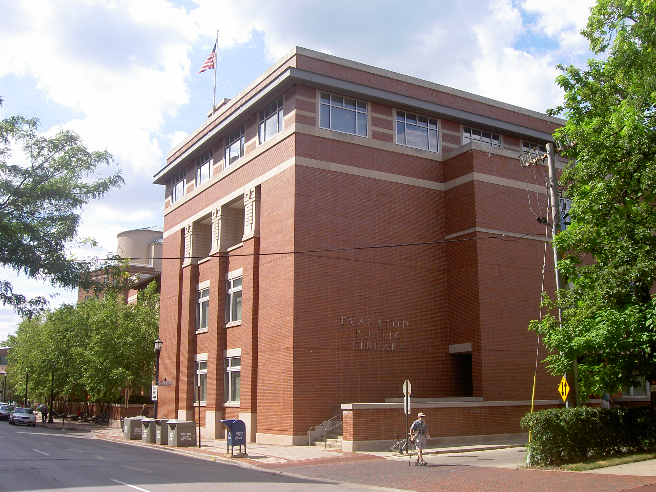 Evanston Public Library affected by hate crimes