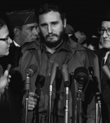 Castro in Washington in 1959. Via Wikimedia Commons.