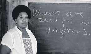 Audre Lorde, via Wikipedia