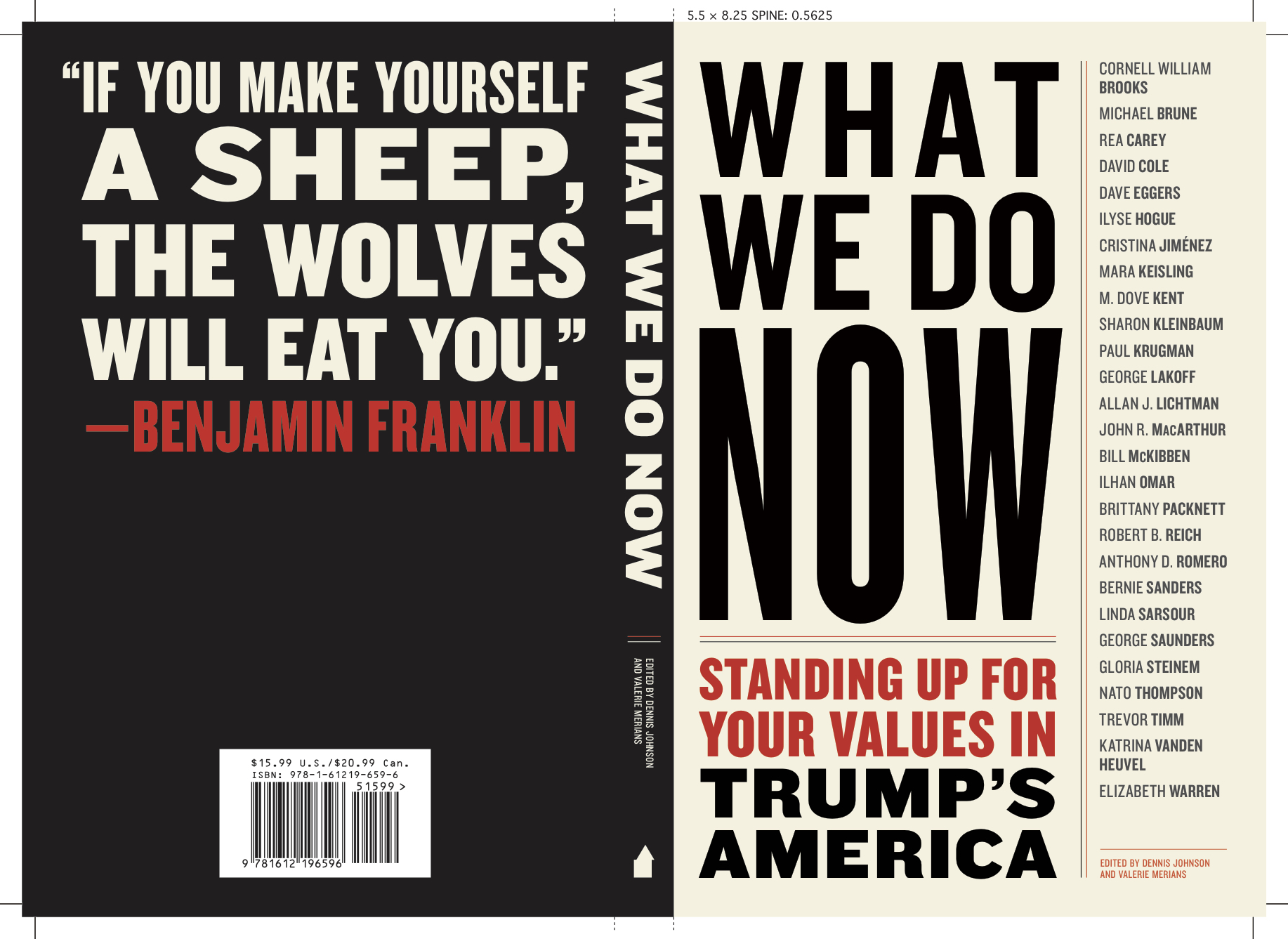 <strong>Sanders, Warren, Steinem, and Other Leading Progressives Respond to Trump in New Melville House Book Pubbing for Inauguration Day</strong>
