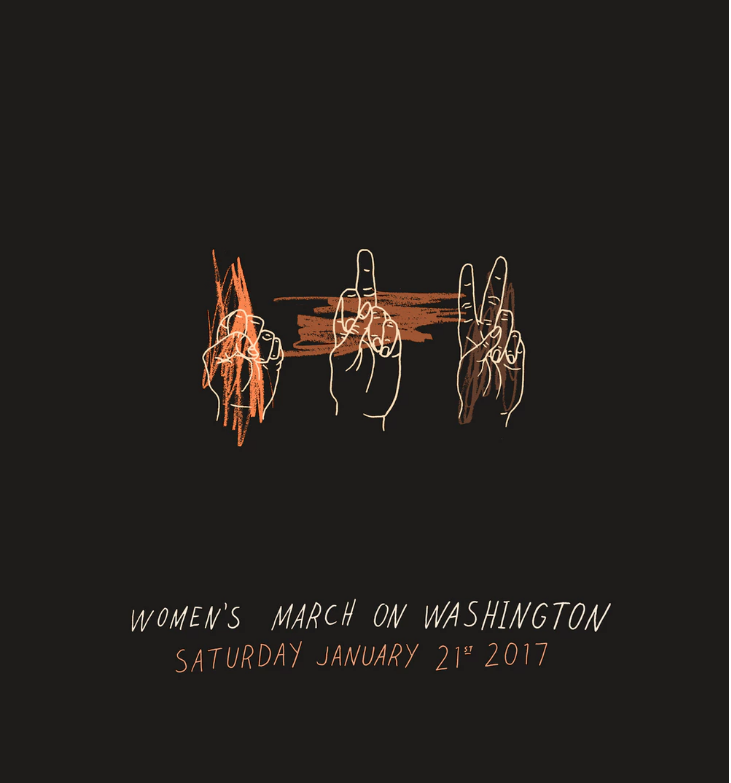 Further notes from the Women's March on Washington
