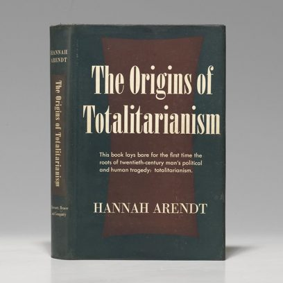 Gee, I wonder why this big heady book about totalitarianism is selling so well!