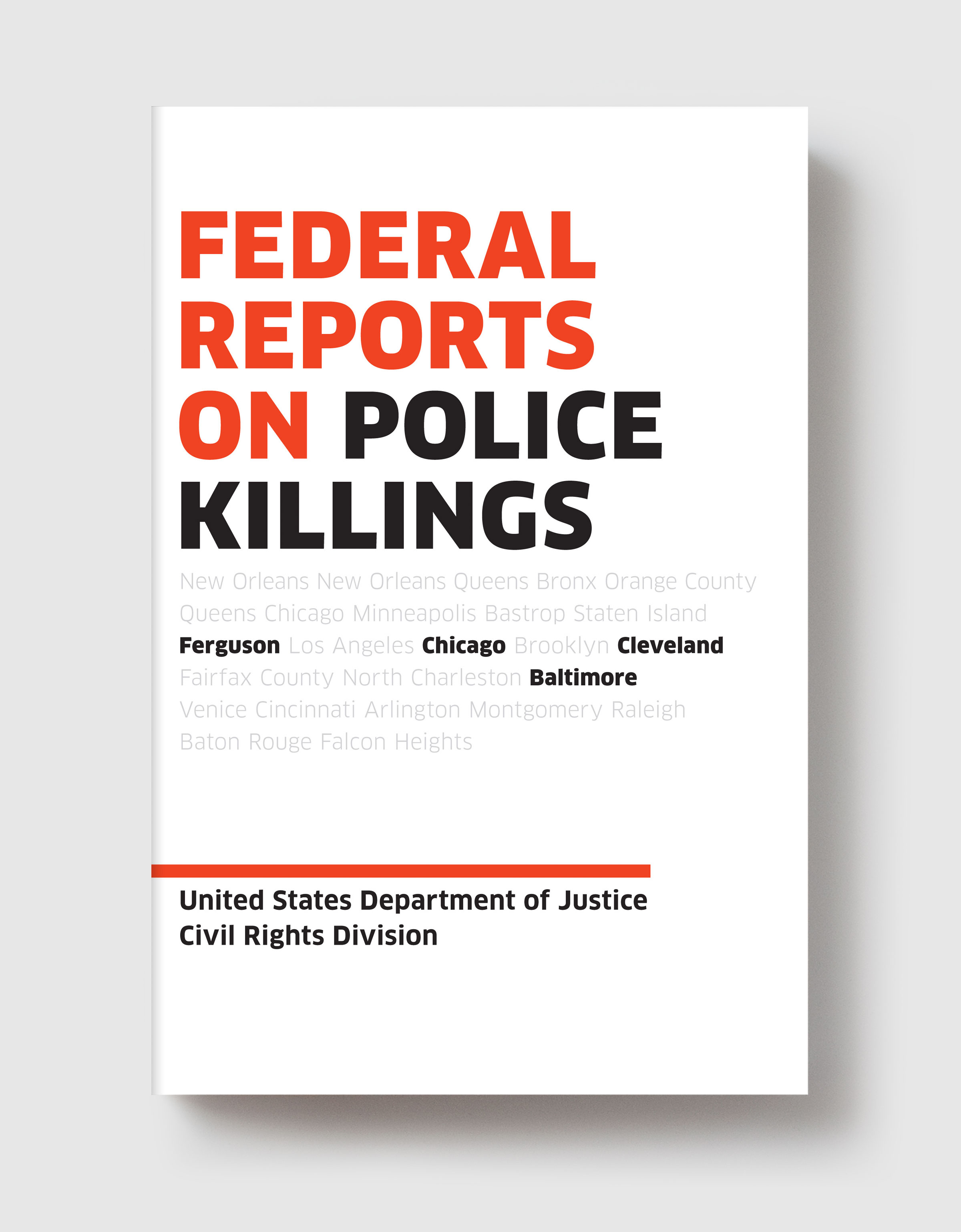 Federal Reports on Police Killings » Melville House Books