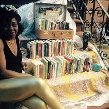 This could be your weekend: OlaRonke Akinmowo's <em>Free Black Women's Library</em> is in Bushwick, check it out!
