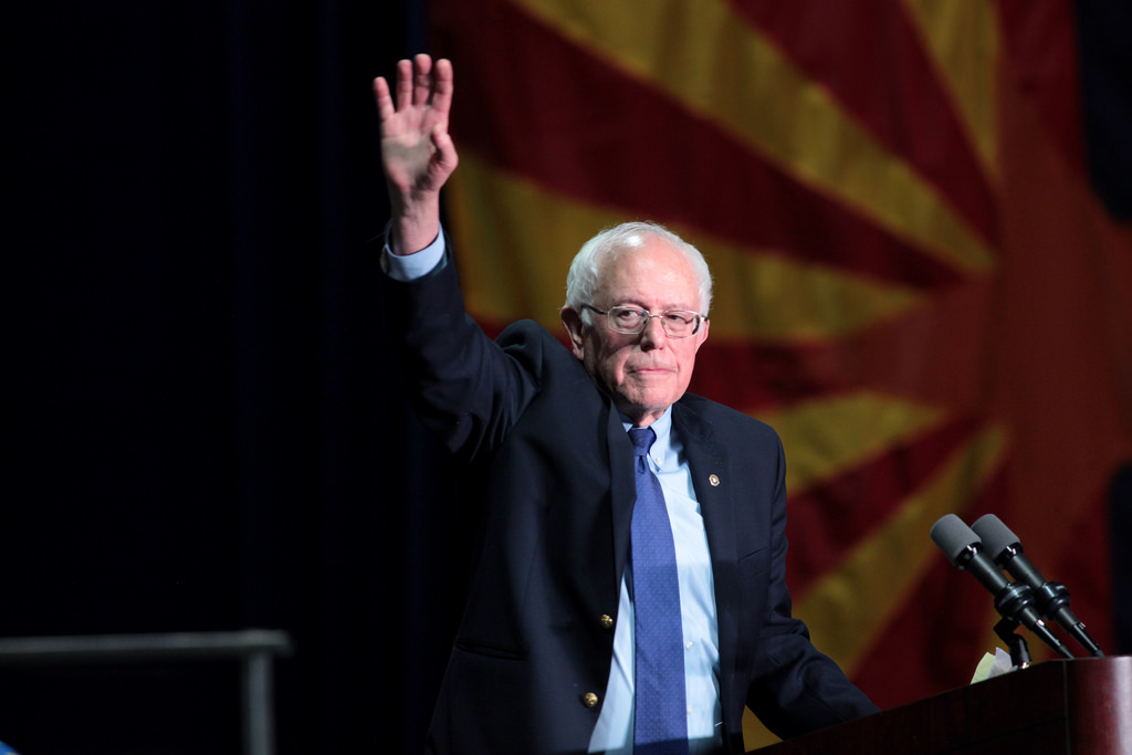 Bernie Sanders is visiting the UK, days before the general election… to sell books