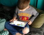 Chicka Chicka USB: Whether print or digital, toddlers can follow a story