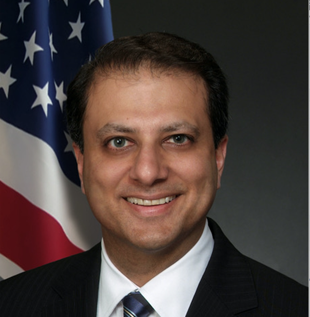 Preet Bharara's writing a book
