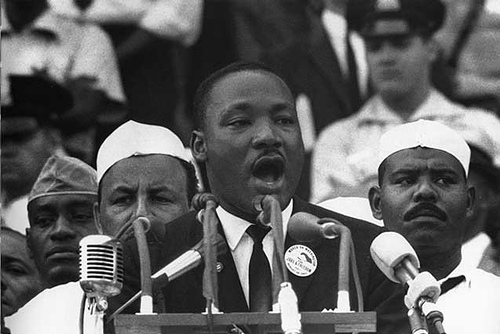 "It's a good day to watch Martin Luther King deliver his ""Two Americas"" speech"
