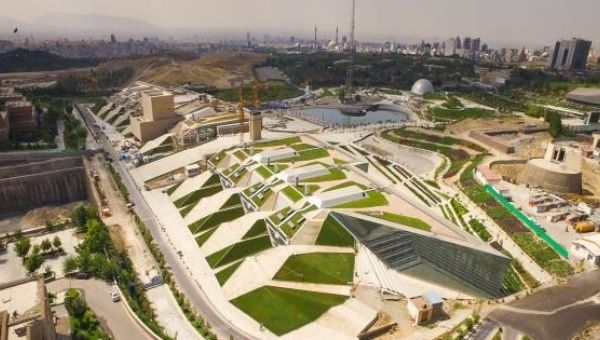 Tehran is now home to a massive book garden