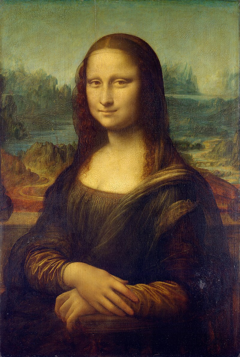 Tfw when you steal the Mona Lisa and hang on to it for two years