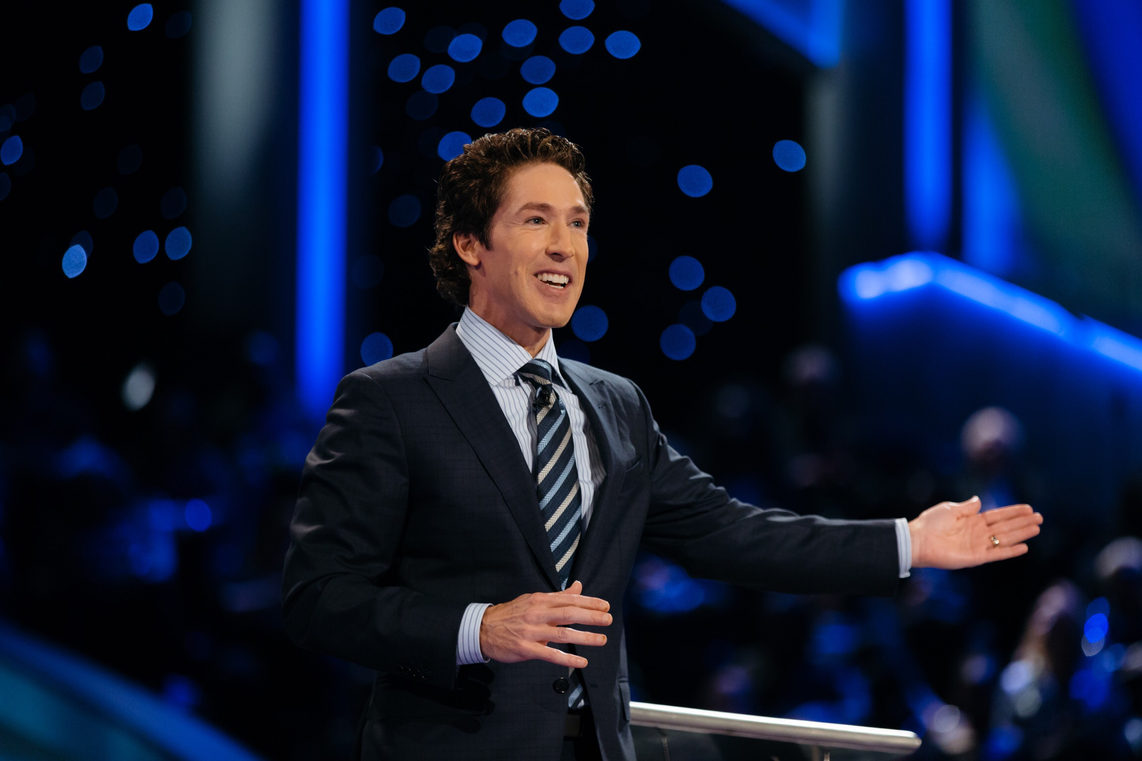Joel Osteen at the Drowning Point