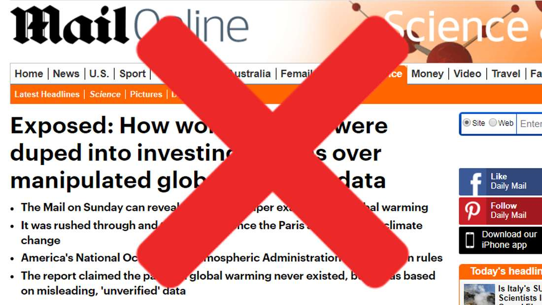 """A leading British newspaper is """"sorry not sorry"""" over claims that global warming really isn't that bad"""