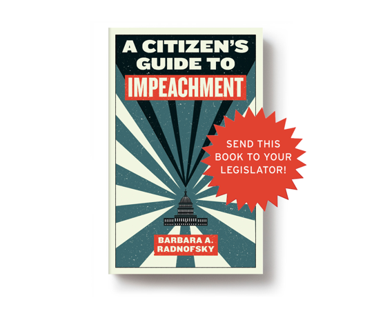 PRESS RELEASE: Melville House announces project to send copies of <i>A Citizen's Guide to Impeachment</i> to all of Congress