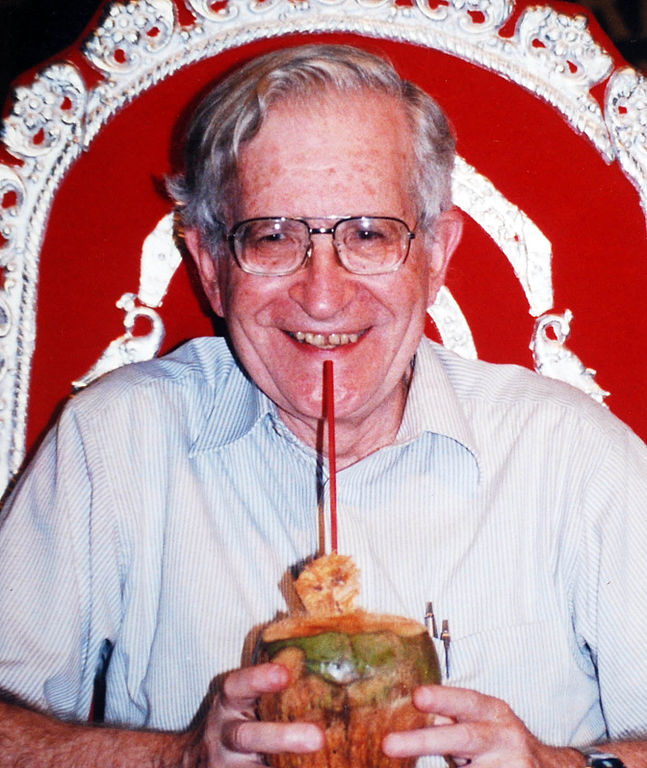 For Black Friday, one New York indie is offering a free Chomsky e-book