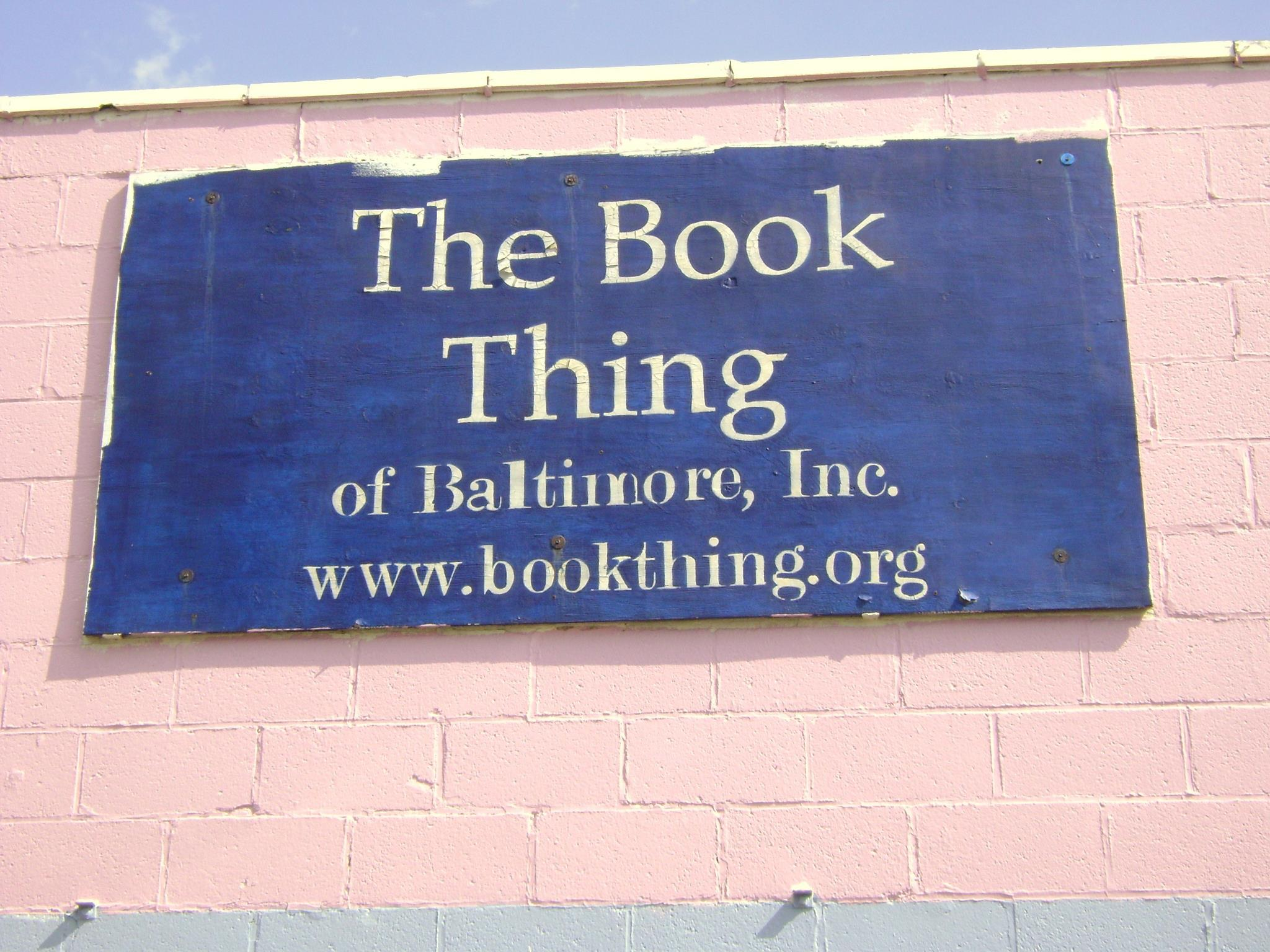 The Book Thing rebuilds, reopens, and will keep giving out free books