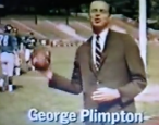"Let us hold a symposium. It shall be titled, ""What was George Plimpton?"""