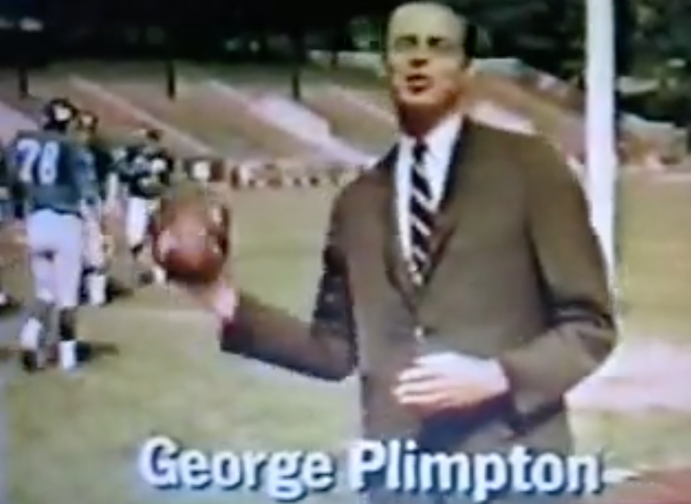 """Let us hold a symposium. It shall be titled, """"What was George Plimpton?"""""""