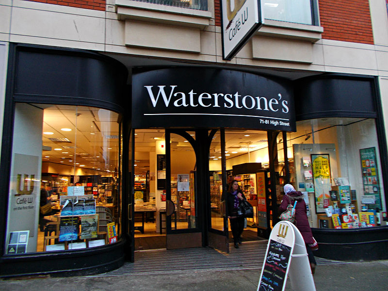 Waterstones, the UK's largest (and only) bookshop chain has been sold