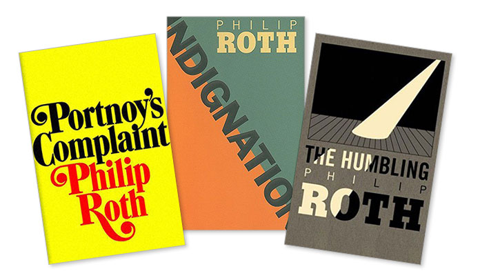 For the love of a good Philip Roth cover