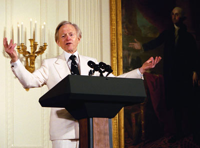 Remembering Tom Wolfe by some of his best lines (and attire)